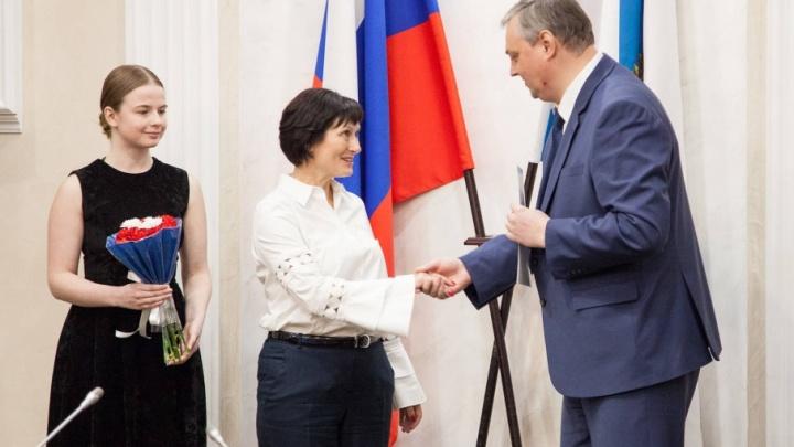 В Архангельске наградили 36 лучших учителей Поморья