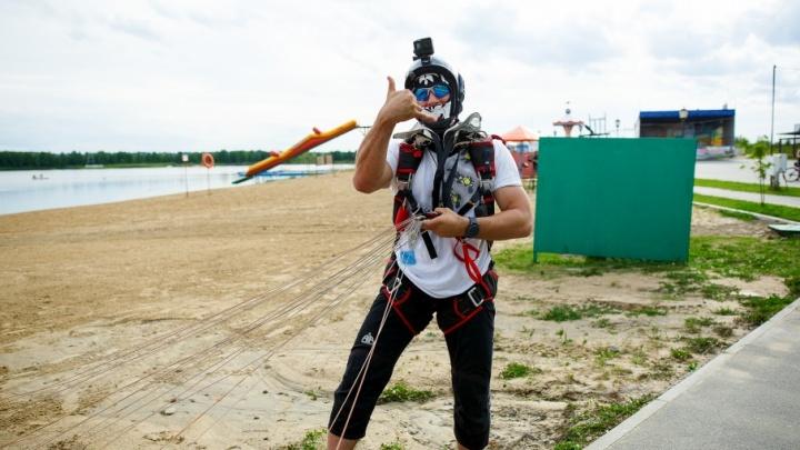 Тюменский спортсмен готовится к рекорду Казахстана