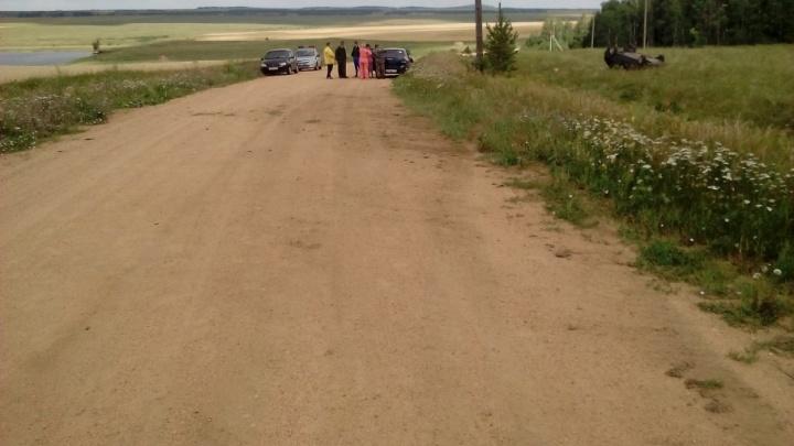 В ДТП на трассе в Челябинской области погибла девочка, четверо ранены