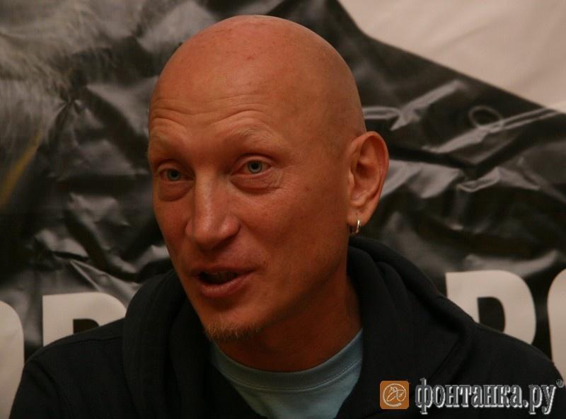 Солист группы Zorge Евгений Федоров