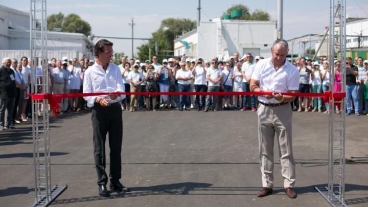 «Сады Придонья» открыли новый завод по переработке фруктов и овощей и производству пюре