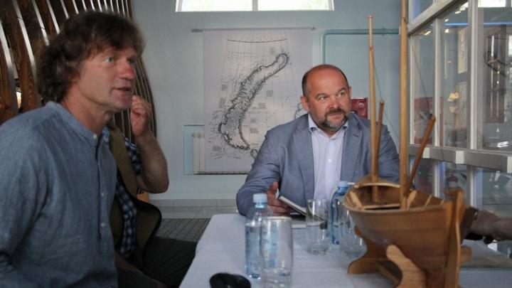 Обратно к поморам: губернатор поддержал идею возрождения северных традиций кораблестроения