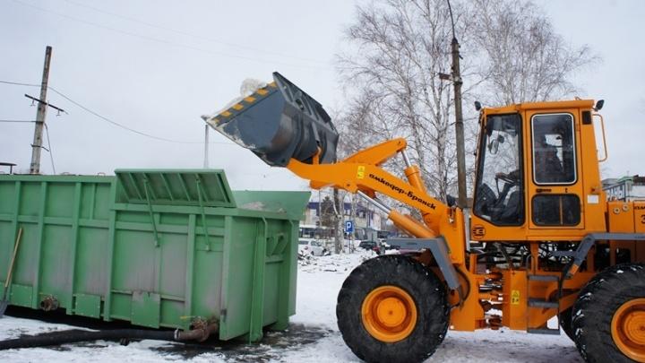 Презентованные в Тюмени снегоплавильные комплексы «Горыныч» прогорели