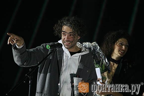 Джулиано ди Капуа и Илона Маркарова получают Гран-при