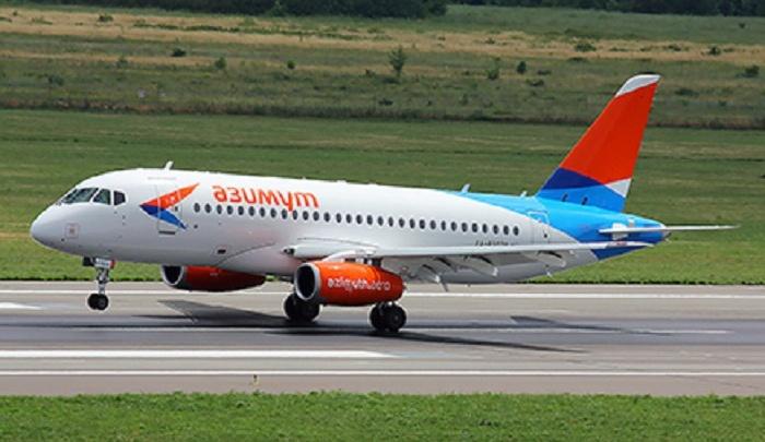 В ростовский аэропорт прилетел первый самолет авиакомпании «Азимут»