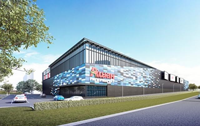 В Челябинске к 2018 году построят трёхэтажный ТРК с «Ашаном»