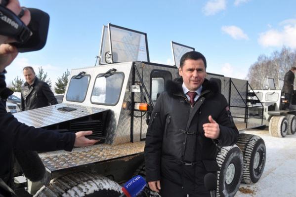Дмитрий Миронов занял 32-е место в медиарейтинге глав регионов России