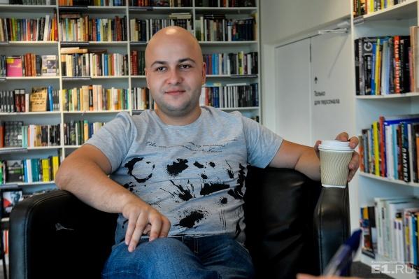 Егор Баранов работал над фильмом о Гоголе два года.