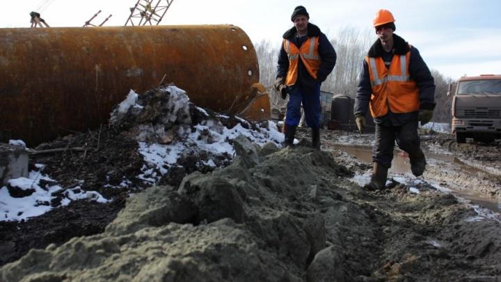 Работают круглые сутки: в Троицке отчитались о ремонте теплотрассы
