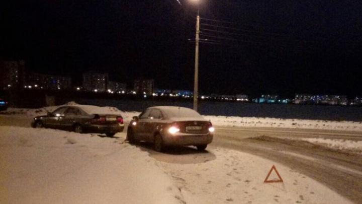 В Северодвинске в ДТП пострадала беременная девушка