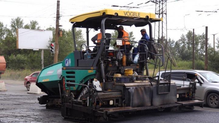 Челябинские дорожники продолжат ремонт проспекта Победы в середине сентября