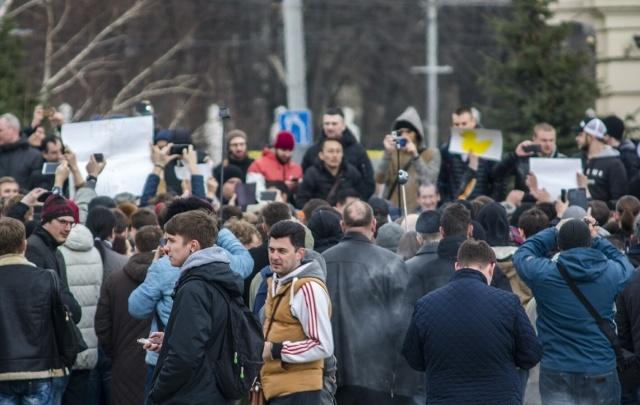 В Ростове завершился антикоррупционный митинг «Димонстрация»