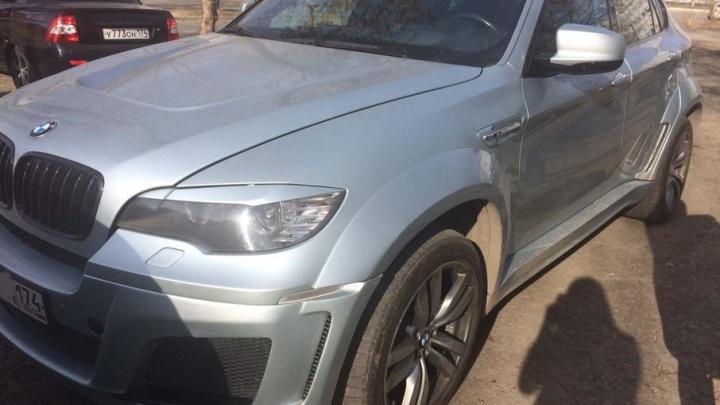Челябинец погасил транспортный налог в 370 тысяч рублей после ареста BMW X6