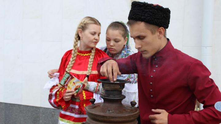 Казаки впервые приняли участие в акции «Ночь музеев»