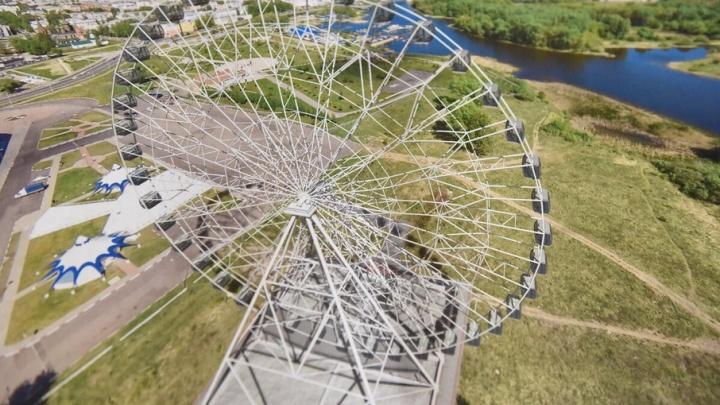 В Ярославле появится огромное колесо обозрения, на котором будут женить