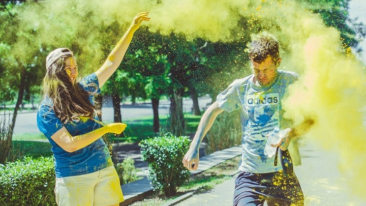 В Волгограде любители пачкаться красками устроят массовый забег