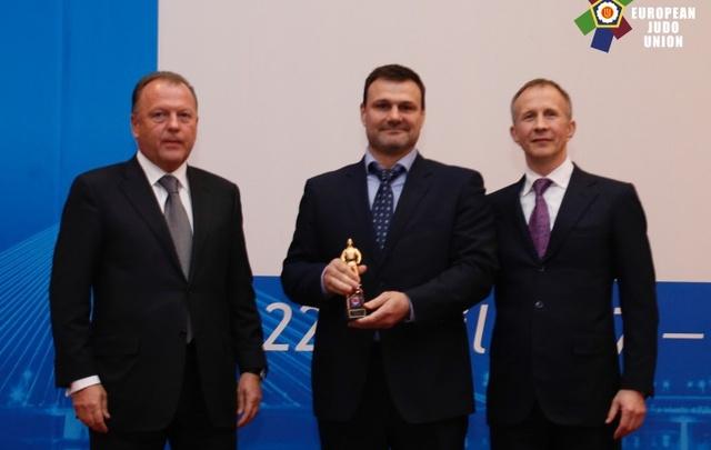 Челябинца признали лучшим тренером Европы по дзюдо