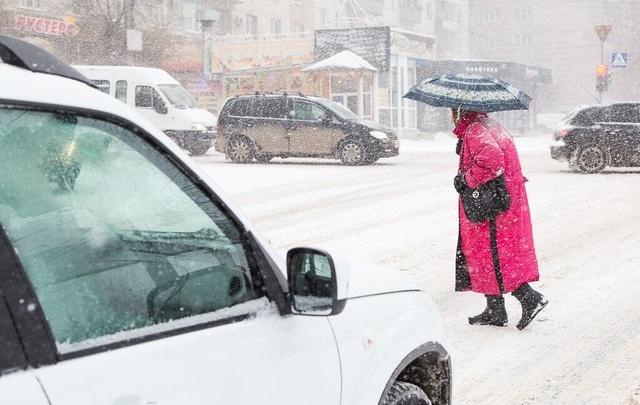 В Волгограде ожидаются дождь со снегом и сильный ветер