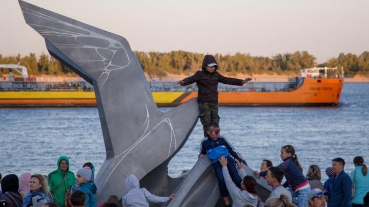 Волгоград отпраздновал День защиты детей на новой набережной