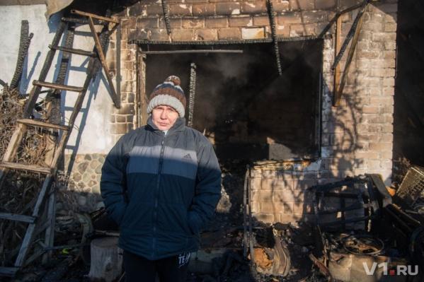 Елена Самошина считает, что дом вспыхнул из-за проводки