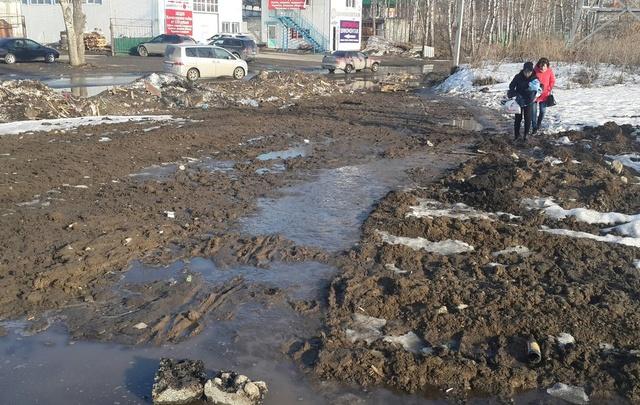 В Калининском округе Тюмени обустроят два тротуара