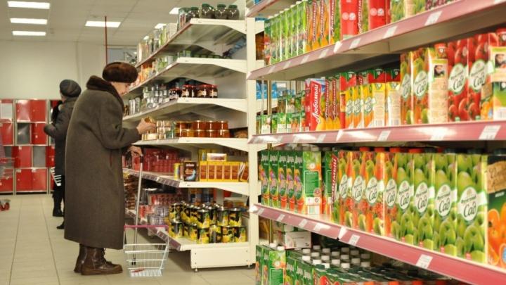 В Плесецком районе спасли от пожара крупный продуктовый магазин