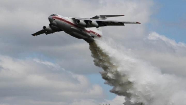В Волгоградскую область переброшена дополнительная пожарная авиация