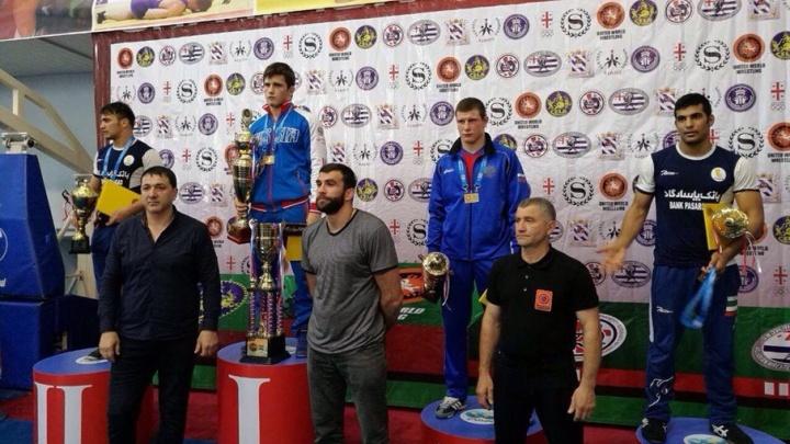Спортсмен из Ростова стал третьим на турнире по греко-римской борьбе в Батуми