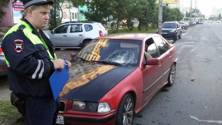 Водитель БМВ сбил пенсионерку в центре столицы Поморья