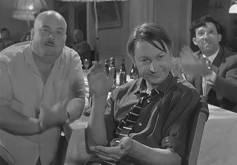 кадр из фильма «Дайте жалобную книгу», «Мосфильм», 1965 г., реж. Э.Рязанов