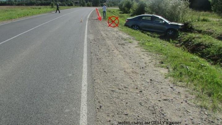 В Вилегодском районе в аварии пострадала 12-летняя пассажирка