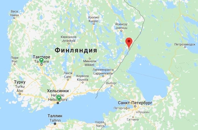 Когда откроют границы россии с финляндией ремонт квартир дубай