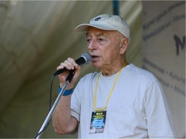 Бард Александр Городницкий.