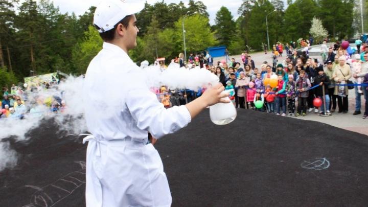 Ведущий детского праздника выпил колбу азота на глазах у публики