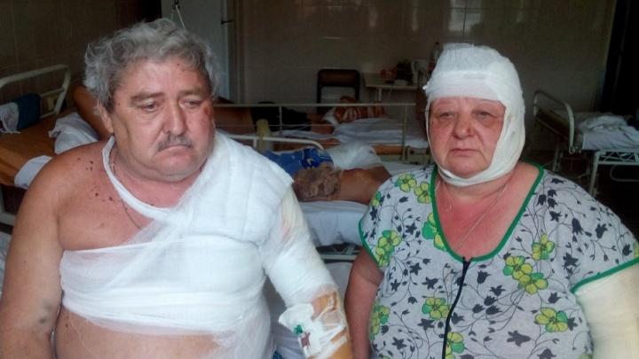 Во время пожара в Ростове пенсионерка вынесла на себе из огня парализованного мужа