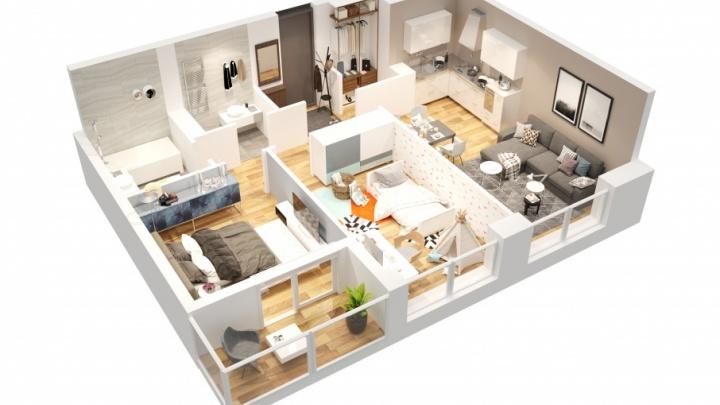 Пермяки определили оптимальные размеры квартир для нового жилого комплекса от «Талан»