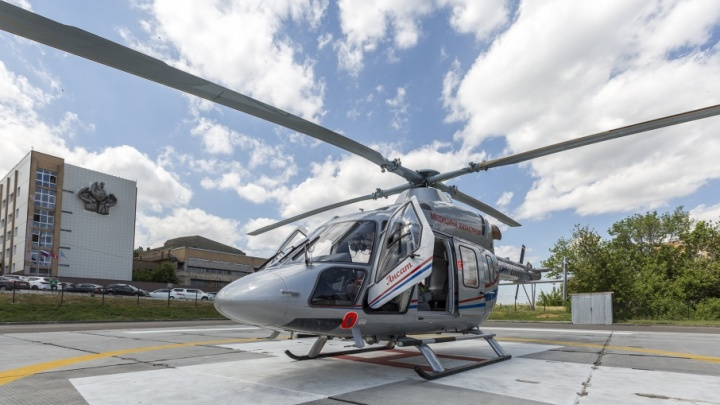 Отравившийся уксусом двухлетний ребенок вертолетом доставлен в Волгоград