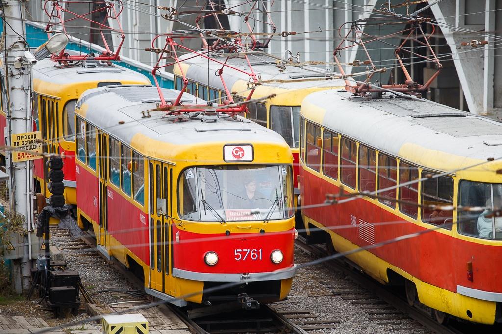 Самые разные трамваи ходят по городу-герою