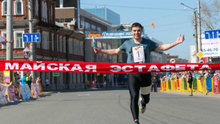 Майская эстафета изменит схему движения пассажирского транспорта в Архангельске