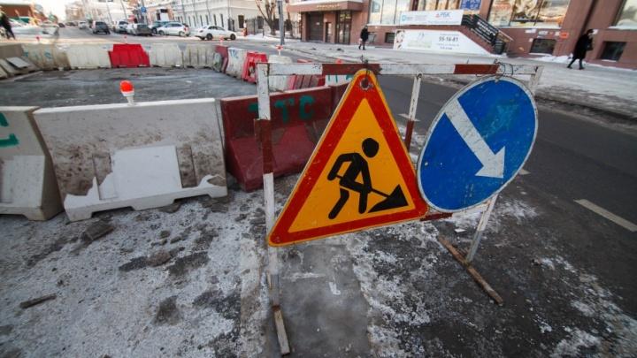 На Московском тракте перекроют на месяц две полосы