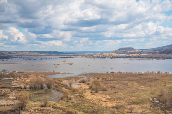 Порт хотят разместить в районе моста через реку Сок и Сокского карьера