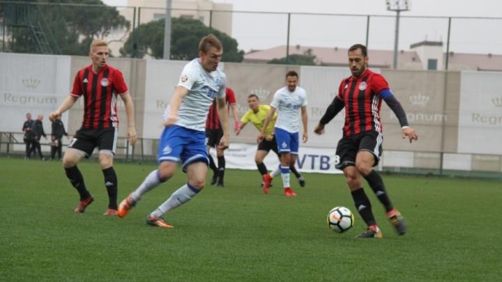 «Амкар» проиграл на сборах московскому «Динамо»