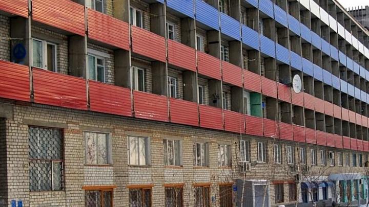 Фасад общежития педуниверситета на Мамаевом кургане облагородят к ЧМ-2018