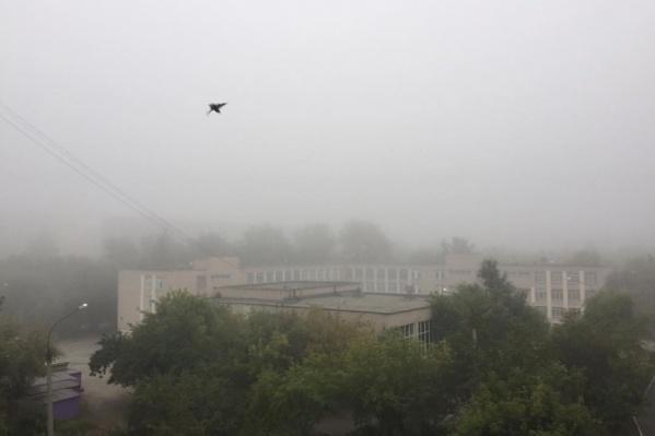 Вид на школу на улице Захаренко