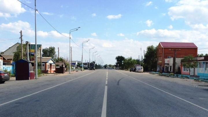 На южном въезде в Волгоград дорога стала на метр шире