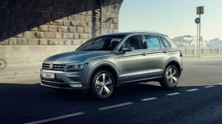 Новый Volkswagen Tiguan: максимально доступные цены в октябре