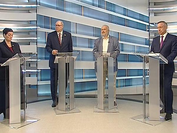Фото: скриншот видео дебатов