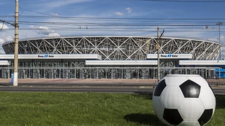 В Волгограде установят 15 футбольных мячей для цветов