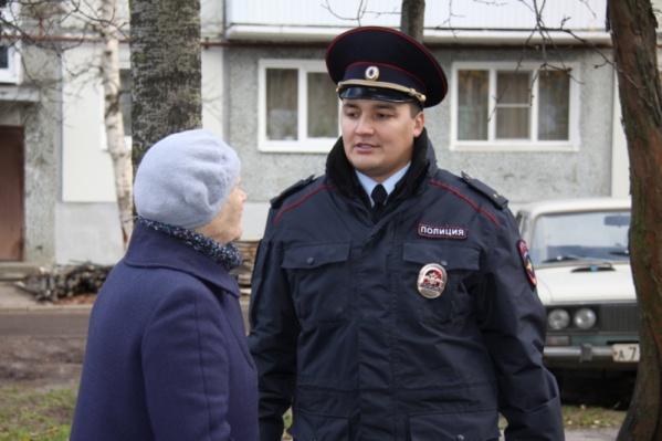 Победитель народного голосования прошлого года участковый из Северодвинска Денис Исаков