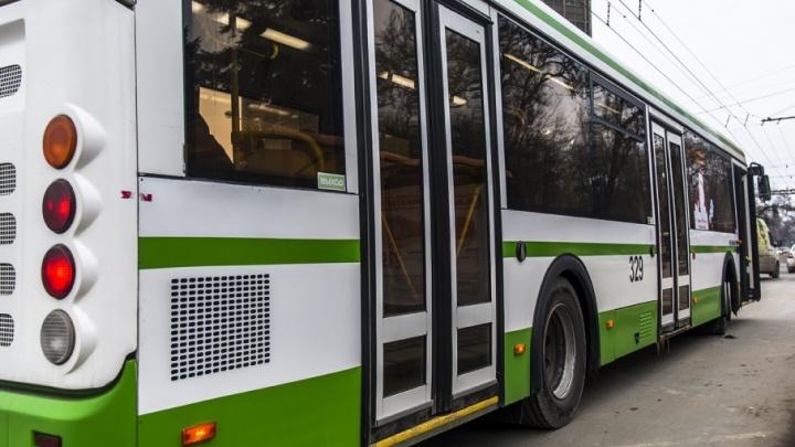 На Ленина в ДТП с автобусом пострадал десятилетний мальчик